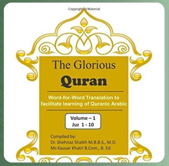 Book Corner - Quran For Humanity